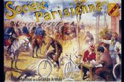 Vintage French advertising poster - Societe Parisienne